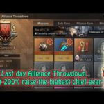 State Of Survival   Alliance Throwdown Last Day   Boost 200% Raise The Highest Chief Gear