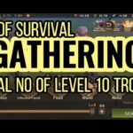 State of Survival – GATHERING with proper amount of troops