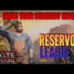 STATE OF SURVIVAL: RESERVOIR LEAGUE: YOU NEED TO KNOW THIS BEFORE IT STARTS! PREPARE YOURSELVES!