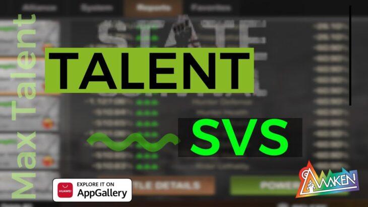 State of Survival – Best Talent Setup for SVS