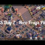 State of Survival – SvS Day 2 – Hero Frags Push & Ray's Wheel. Special Request Video.