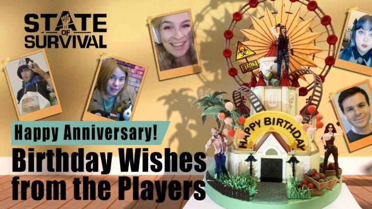 Happy Anniversary   Best Wishes From Players   State of Survival