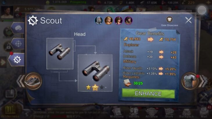 How to craft scout body in state of survival