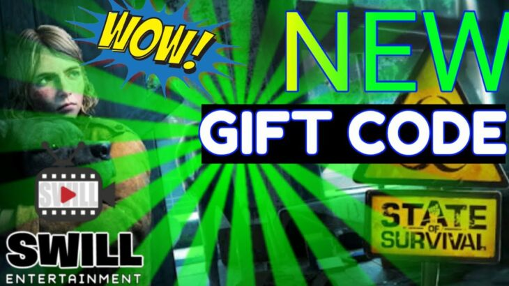 NEWEST GIFT CODE | State of Survival