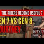 STATE OF SURVIVAL: HOW POWERFUL IS GEN 8? RIDERS BETTER THAN HUNTERS ? COURTNEY VS DEAN !