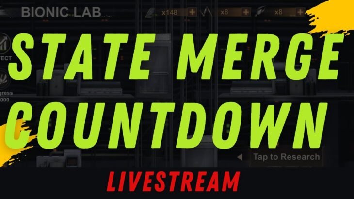 STATE OF SURVIVAL : STATE MERGE COUNTDOWN