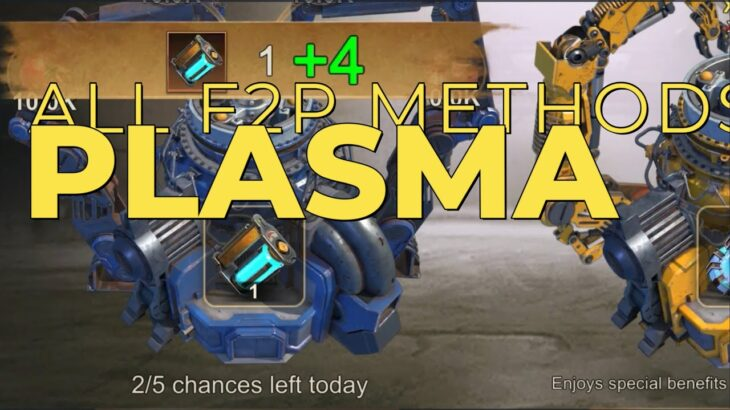 State of Survival : Every plasma F2p can get