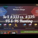 State of Survival – SvS #333 (Invaders) vs. #339: P5 & P6 Hunting Session.