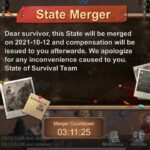 State of survival: State Merger in 3 hours! S11 merging with S9 and #18 ranked player!