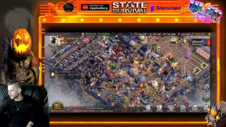 state of survival fr : live chill debriefing strream in game